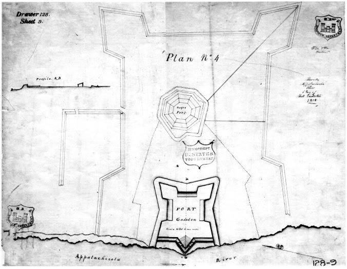 Fort Gadsden sketch