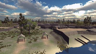 Negro Fort top view