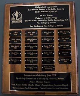City recognition 2013