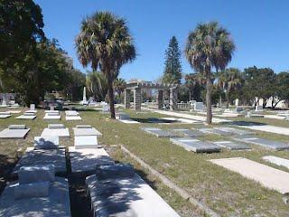 Rosemary Cemetery - Photograph by Uzi Baram