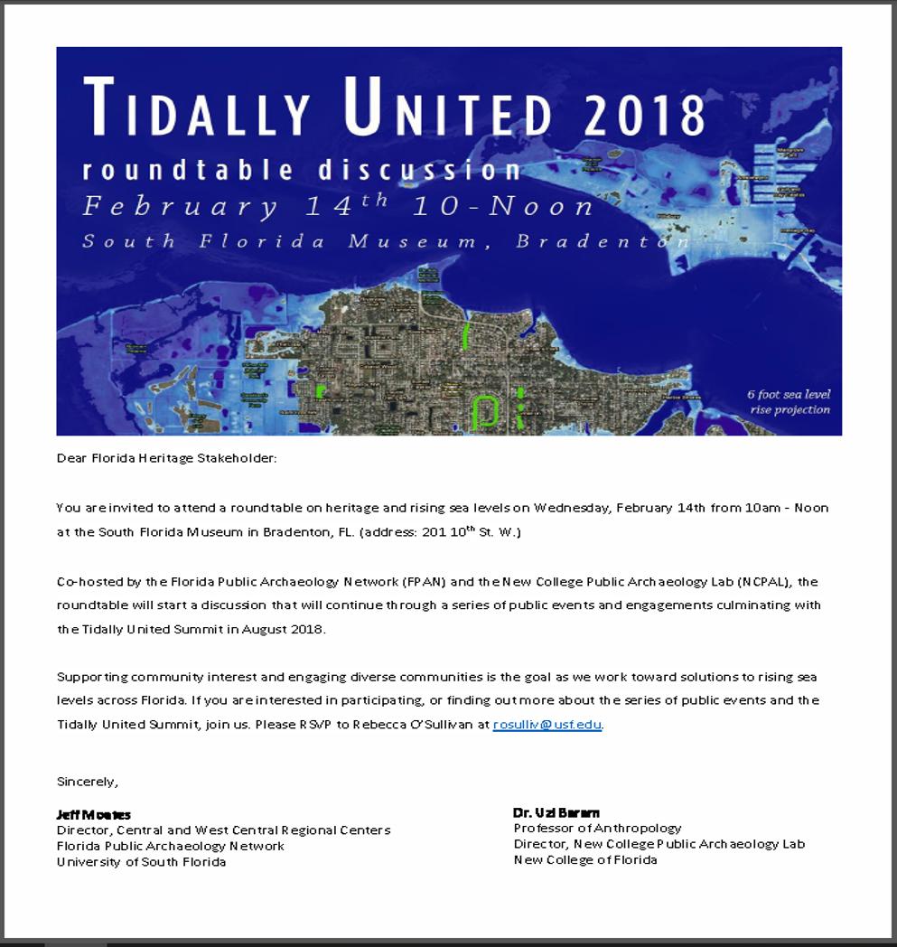 Tidally United Feb 2018