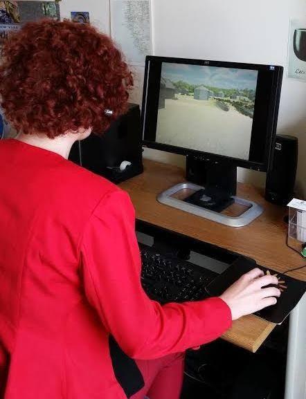 Hal at VR on Desktop