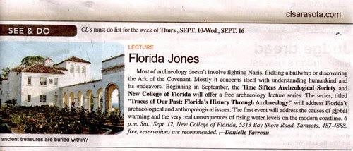 Florida Jones 2009